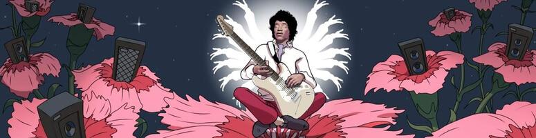 Sloten Jimi Hendrix från NetEnt