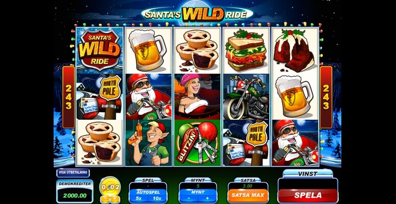 Sloten Santa's Wild Ride