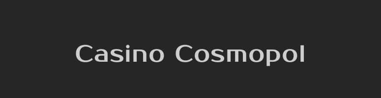 Svenska Casino Cosmopol som ägs av staten
