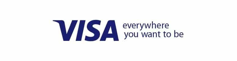 Betala med ditt VISA kort när du spelar casino online