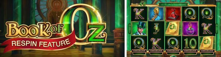 Book of OZ re spin