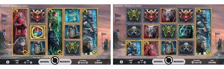 Spela Warlords: Crystals of Power gratis i mobil och dator