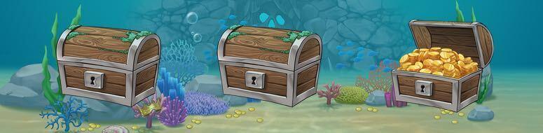 Bonusspel Underwater Adventure