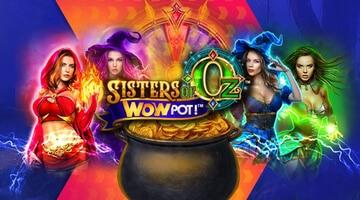 Sisters of Oz slot - jättejackpot