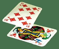 Spelkort i gratis black jack