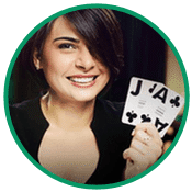 Live casino spel